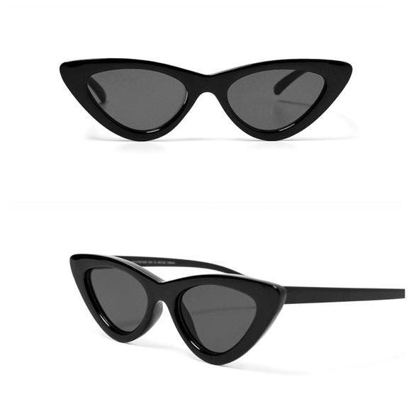 d083b406d9 New Zara slim cat eye sunglasses